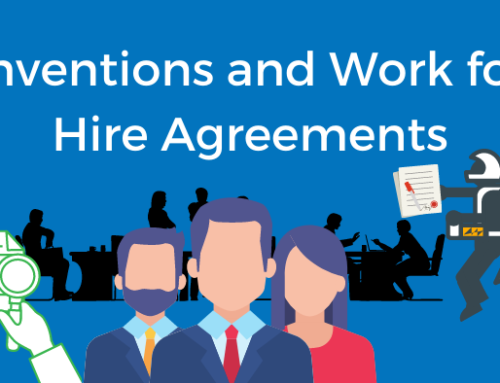 Inventions and Work for Hire Agreements